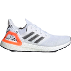 Adidas UltraBOOST 20 M - Cloud White/Core Black/Signal Coral