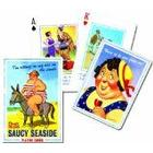 Gibsons Games Piatnik Saucy Seaside playing cards (single deck)