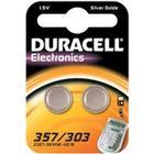 """Duracell """"Klockbatteri 357 / 303 / SR44W Duracell 2-pack"""