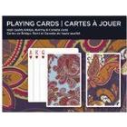 Piatnik Paisley Playing Cards Double Deck