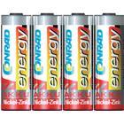 Conrad energy Laddbart batteri R6 (AA) NiZn Conrad energy HR06 1500 mAh 1.6 V 4 st