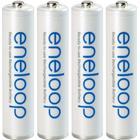 Sanyo Laddbart batteri R03 (AAA) NiMH Sanyo eneloop HR03 800 mAh 1.2 V 4 st