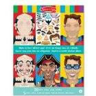 Melissa & Doug 14237 Make-a-Face Crazy Characters Sticker Pad