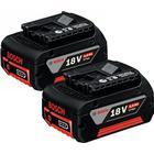 Bosch 18V Li-Ion Batteri 4,0Ah 2-pack
