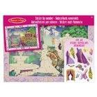 Melissa & Doug Fairytale Princess Peel and Press Sticker by Number