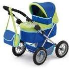 Bayer Design Doll Pram (Blue/ Green)