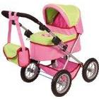 Bayer Design Doll Pram (Pink/ Green)