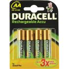 "Duracell ""Duracell Laddningsbara batterier AA 1700mAh 4-P"