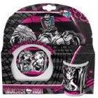 Monster High 27 x 7 x 28cm Melamine Set
