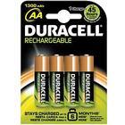 Duracell AA 4 Pack 1300mAh
