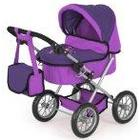 Bayer Design Doll Pram Trendy (Lilac)