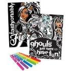 Fashion Angels Monster High Velvet Poster Set