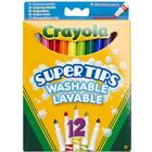 Tuschpennor 12-p Crayola