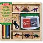 Melissa & Doug Dinosaur Stamp Set: Arts & Crafts - Stamps
