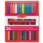 Melissa & Doug Triangular Crayons (24 Pieces)