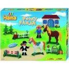 Hama Pony Farm Bead Set