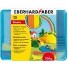 Eberhard Faber Plasticine Clay Bars (10 Bars, Assorted Colours)