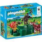 PLAYMOBIL 5273  WWF Zoolog hos okapierne og g