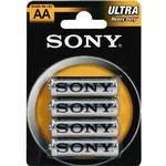 Sony Ultra Batteri Carbon Zinc 4st AA/LR6, 1,5V