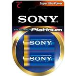 Sony Stamina Platinum Batteri Alkaline 2st C/LR14 1,5V