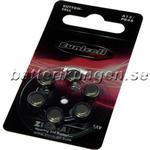 Batterikungen A13 hörapparatsbatterier - 6 st - Utan kvicksilver