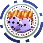 Casino Dice Bl (25-pack)