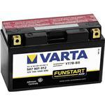Varta Motorcykelbatteri Varta YT7B-4, YT7B-BS 12 V 7 Ah ETN 507901012 Motorräder, Quads, Jetski, Schneemobile