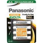 Panasonic Evolta HHR-3XXE - batteri - AA - NiMH x