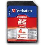 Verbatim SDHC Class 10 4GB