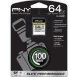 PNY SDXC Elite Performance UHS-I 64GB