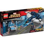 Lego Hämnarnas cityjakt med Quinjeten 76032