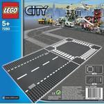 Lego Rak väg & korsning 7280