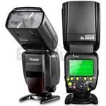fitTek® Travor Professional i-TTL Master/Slave *High Speed Sync* Fast Recycle Time Speedlite Flash Full Kit for Nikon D80  D90  D800  D700  D7100  D7000  D5200  D5100  D5000  D300  D300S  D3200  D3100  D3000  D200  D70S Digital SLR Cameras and Other Nik
