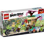 Lego Äggstöten på fågelön 75823
