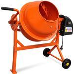 vidaXL Elektrisk Betonblander 63 L 220 W Stål Orange