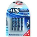 Ansmann laddningsbara AAA 1100mah Batterier