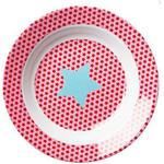 Rice Kids Melamine Bowl with Girls Star Print 20cm