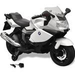 vidaXL Elmotorcykel för barn BMW 283 vit 6 V