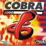 Gummi bordtennis Gummi bordtennis Stiga Cobra 2000 2.0mm