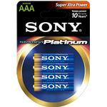 Sony Stamina Platinum Batteri Alkaline 4st AAA/LR03 1,5V