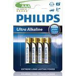 Philips ExtremeLife+ Ultra Batteri Alkaline 4st AAA/LR03