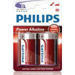 Philips Power Life Batteri Alkaline 2st D/LR20