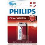 Philips Power Life Batteri Alkaline 9V/66LF22