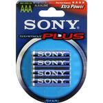 SONY Stamina Plus, LR03 / AAA batterier, alkaliska, 1,5V, 4-pack