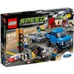 Lego Speed Champions Ford F-150 Raptor & Ford Model A Hotrod 75875