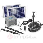 Esotec Belyst solarpumpsystem Milano LED. Energiklass: A+