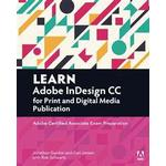 Learn Adobe InDesign CC for Print and Media Publication (Pocket, 2016)
