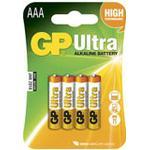 Batteri Alkaline AAA/LR03 4st/fp