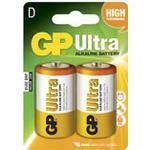 Batteri Alkaline D/LR20 2st/fp