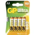 Batteri Alkaline AA/LR6 4st/fp
